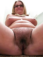Cock addicted experienced granny getting pleasured on camera